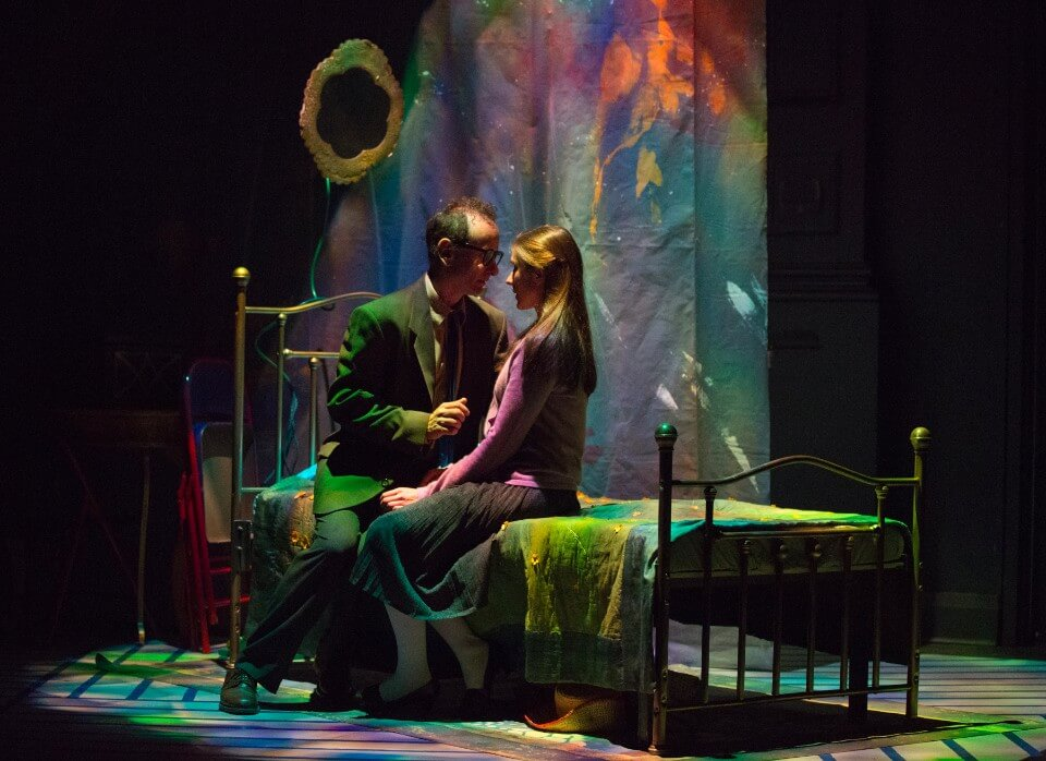 Alon Nashman and Adanya Dunn in Charlotte: A Tri-Coloured Play with Music